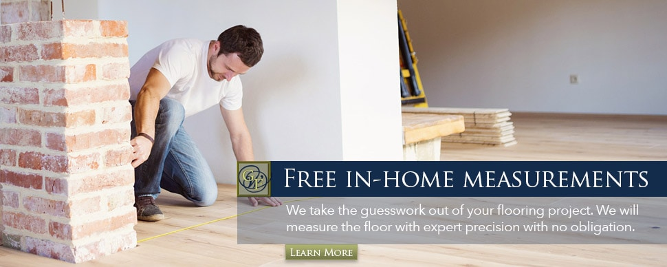 Free In-Home Measurements - Lakeland Flooring Company